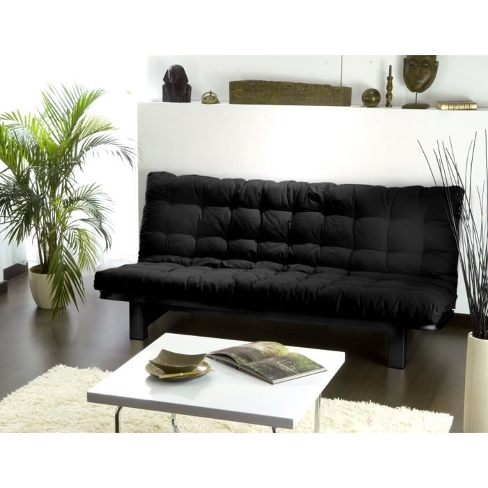 la banquette lit convertible clara a un sommier achat vente banquette cdiscount. Black Bedroom Furniture Sets. Home Design Ideas