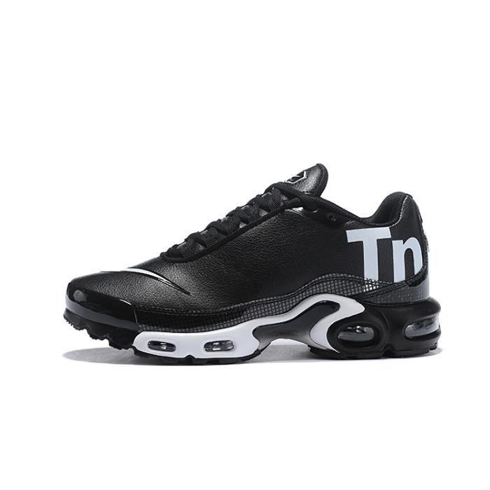 new york wholesale running shoes Nike Air Max Plus Tn Chaussure pour Homme NOIR BLANC - Achat ...