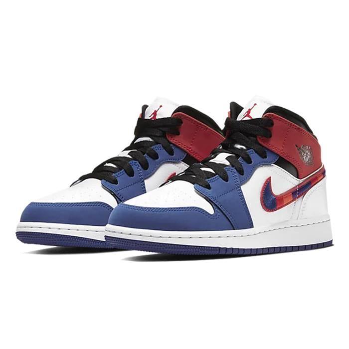 Air Jordan 1 Mid SE (GS) Chaussures de Basket Air Jordan One pour ...