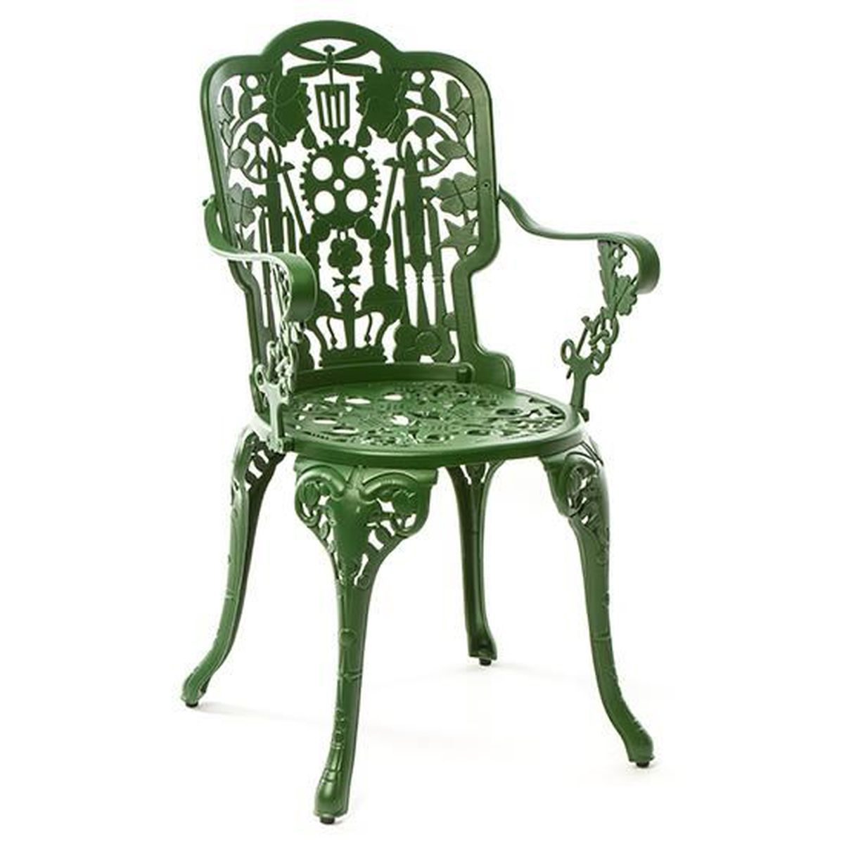Seletti Industry Collection Furniture Petit Fauteuil Vert Achat - Petit fauteuil vert