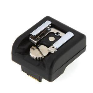COUPLEUR MACRO Hot Shoe Adaptateur Caméra Sans fil Gâchette du Fl