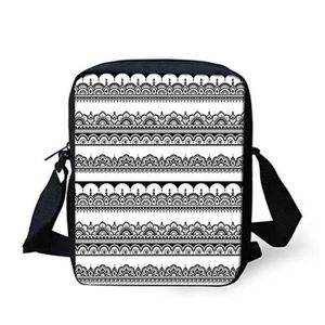 BESACE - SAC REPORTER Besace N6Y3A Messenger Bag, unisexe, monochrome As