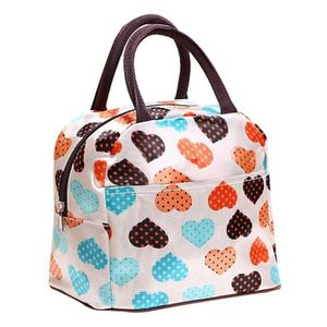 LUNCH BOX - BENTO  Portable sac à lunch isolé Picnic fourre-tout zip