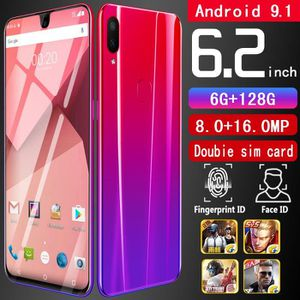 SMARTPHONE 6.2 Pouces Double caméra Android 9.1 Smartphone oc
