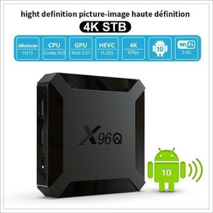 BOX MULTIMEDIA Android TV Box T96 Mars Amlogic S905W Quad Core AR