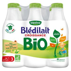 LAIT BÉBÉ BLEDINA Blédilait Lait de croissance Bio - Dès 12