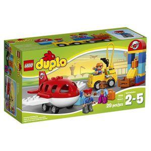 ASSEMBLAGE CONSTRUCTION LEGO Duplo Ville Aéroport 10590 assemblable Jouet