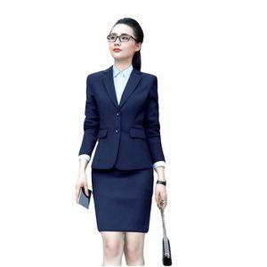 COSTUME - TAILLEUR (Veste+Chemises+Jupe) Costume Femme Marque Luxe 3