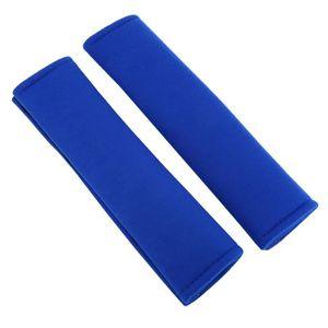 1 paire de coussins de si/ège bandouli/ère ceintures de s/écurit/é souples manchon de protection Ceinture de s/écurit/é