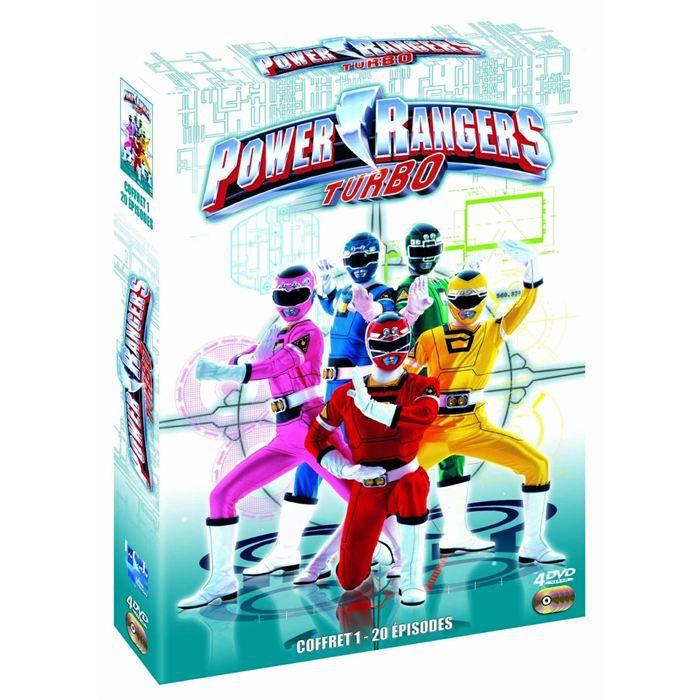 Dvd Power Rangers Turbo Coffret 1