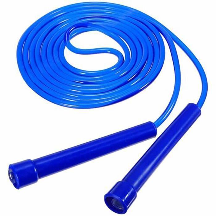 Corde à sauter corde à sauter Nylon réglable Crossfit entraînement perte de poids exercice Fitness éq - Modèle: blue - HSJSTSA08424