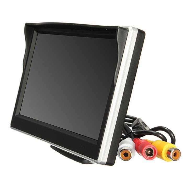 Moniteur d'écran 800 * 480 TFT LCD HD pour caméra de recul arrière de voiture NA3
