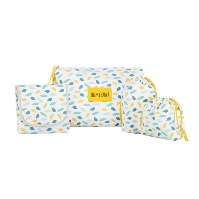 Badabulle Kit à langer Pockets & Go - 1 pochette et 3 accessoires