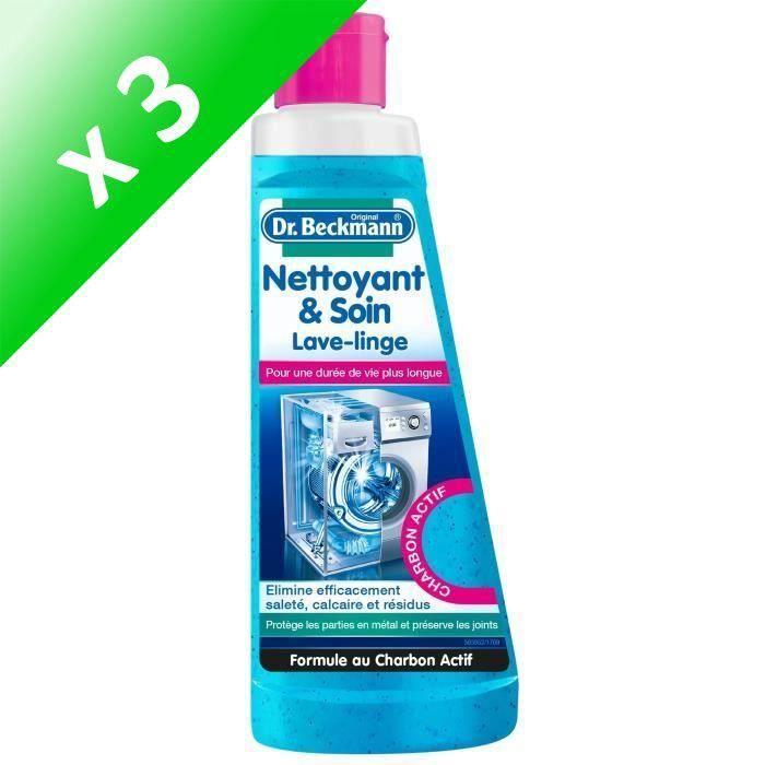 DRBECKMANN Nettoyant & soin lave-linge - 250 ml (Lot de 3)