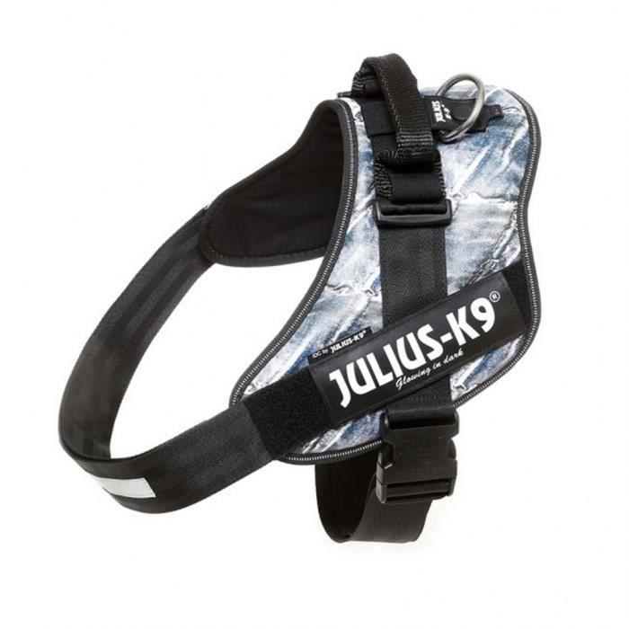 Julius K9 IDC Harnais pour chiens Taille 4 Jeans 16IDC-JEANS-4