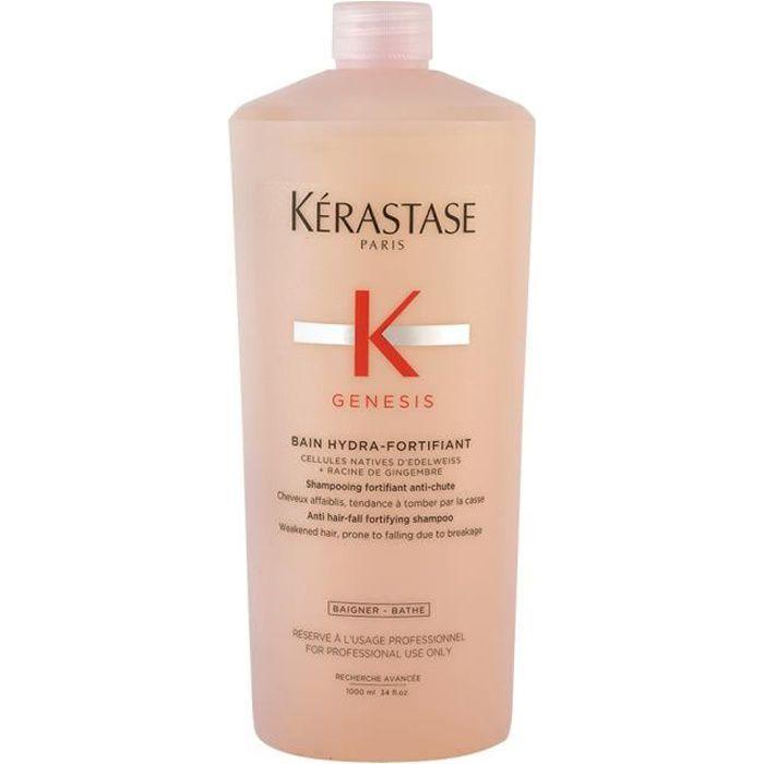 Kerastase Genesis Bain Hydra Fortifiant 1000ml - shampooing antichute Pour Cheveux fins