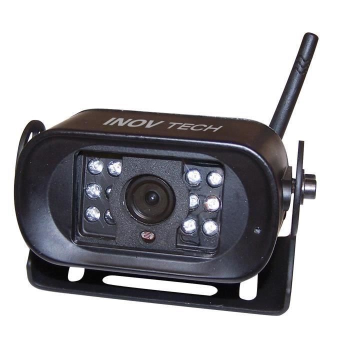 Caméra de recul vision nocturne, sans fil