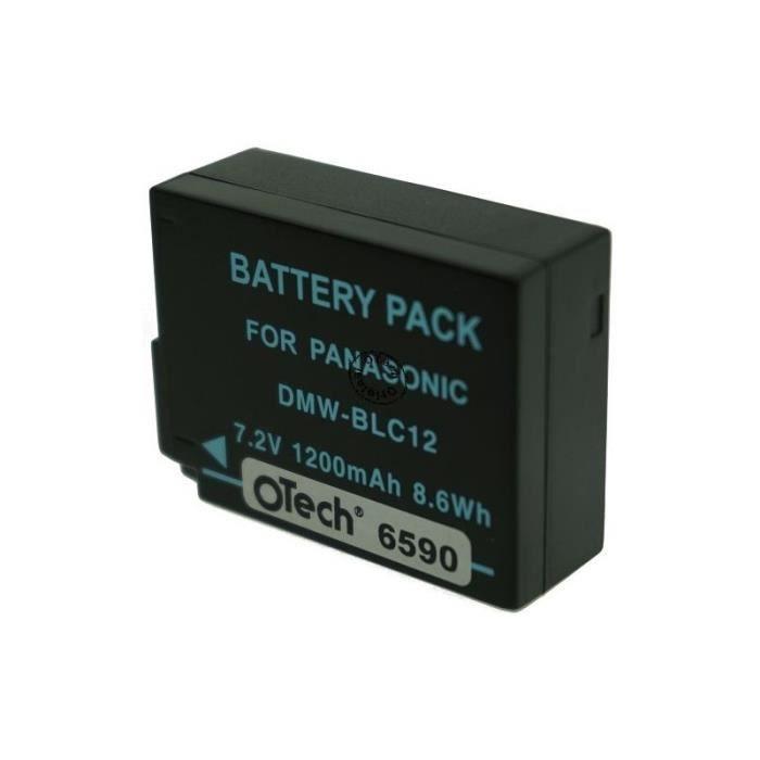 Batterie Appareil Photo pour PANASONIC LUMIX DMC-FZ300