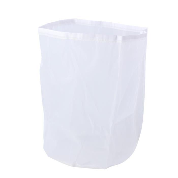 Filtre en nylon réutilisable sac de filtre crépine alimentaire pour le lait de noix à la maison Froid Brew ASPIRATEUR TRAINEAU