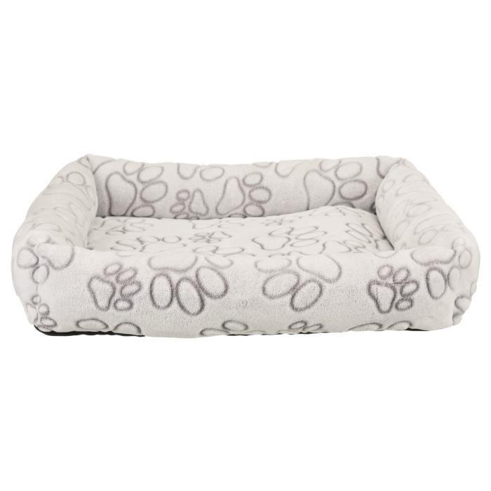 TRIXIE Lit Nando 60 × 50 cm - Gris clair - Pour chien