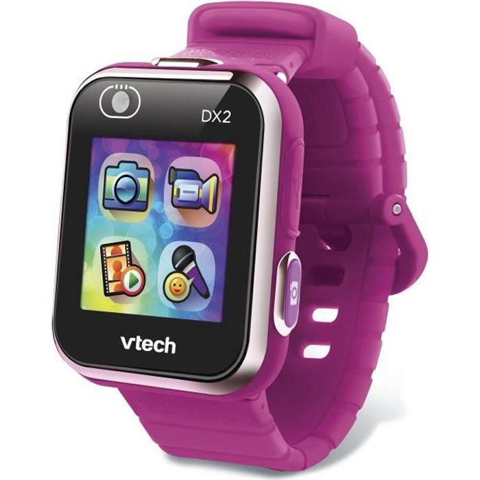VTECH - Kidizoom Smartwatch Connect DX2 Framboise - Montre Photos et Vidéos