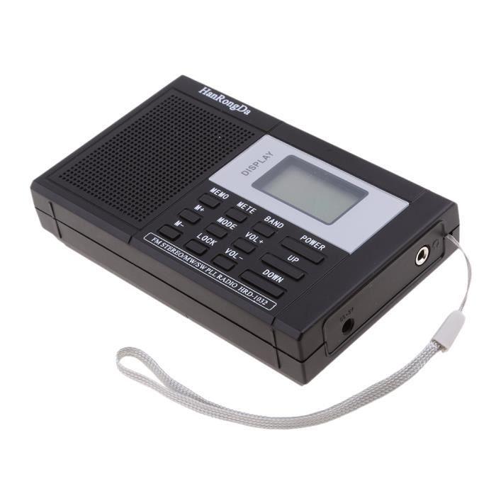 Radio réveil RADIO REVEIL stéréo multibande multibande tuner nu