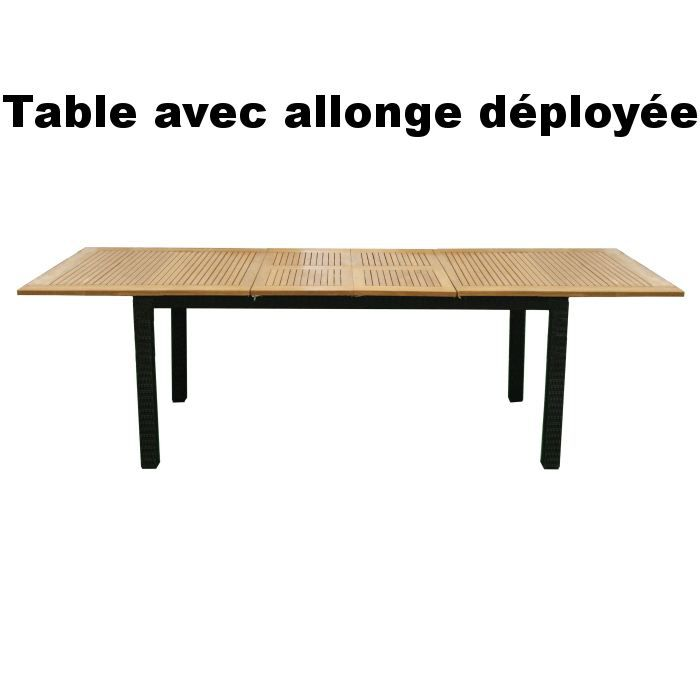 Table riverside rectangulaire achat vente table de jardin table riverside - Table jardin cdiscount ...