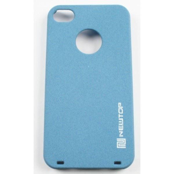 coque iphone 4 4s bleu ciel newtop