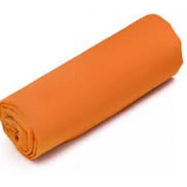 drap housse 140x190 orange Drap Housse Jersey 140x190 Bon30cm Coton Extensible Orange  drap housse 140x190 orange