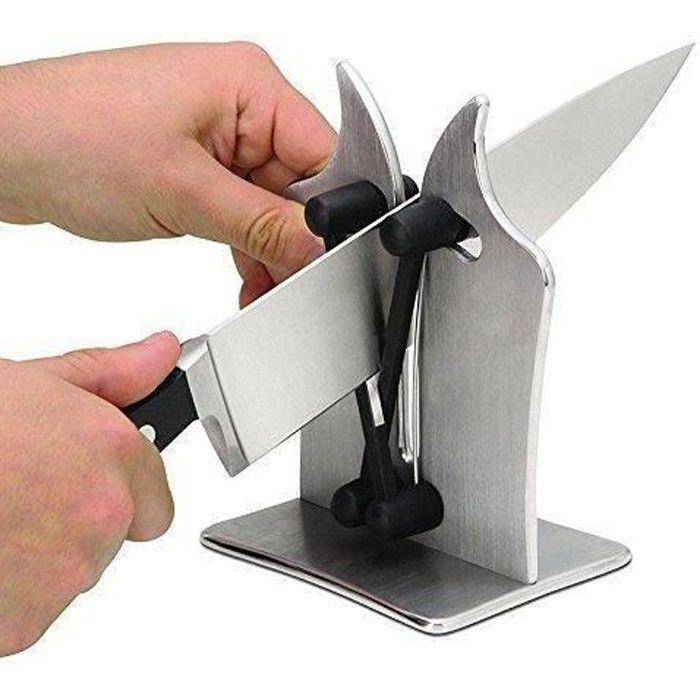 Electric Ouvre Boîte Couteau Ciseaux Aiguiseur Noir Chef de Cuisine Outil Extra Tall