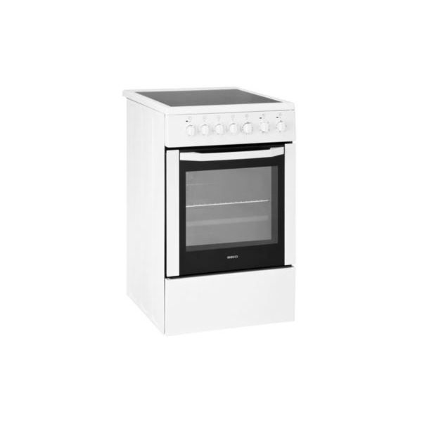 cuisini re vitroc ramique 50cm beko cse 57100 gw achat. Black Bedroom Furniture Sets. Home Design Ideas