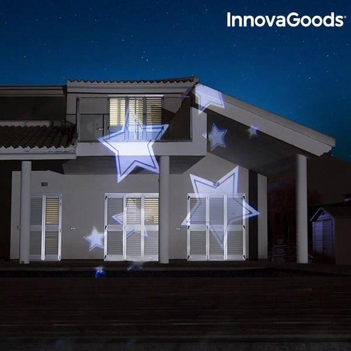 Projecteur LED pour extérieur facade maison - Decoration maison projection  lumineuse