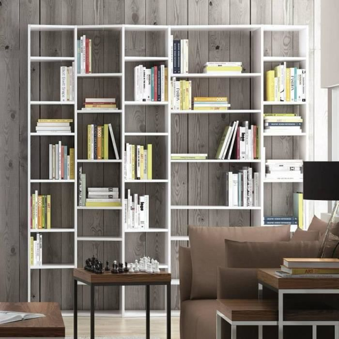 buddy 35 casiers biblioth que tag re design bl achat vente biblioth que buddy 35 casiers. Black Bedroom Furniture Sets. Home Design Ideas