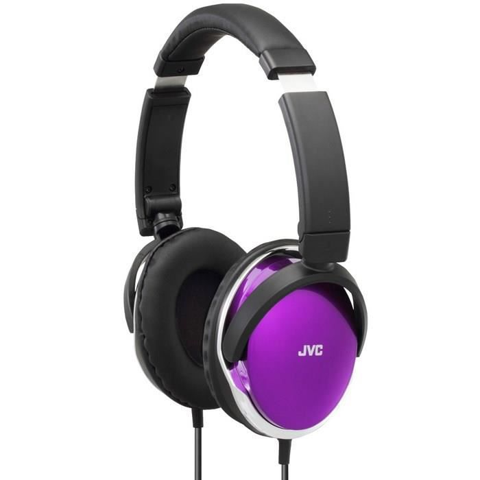 jvc ha s660 e casque audio circum aural violet achat vente casque couteur audio jvc ha. Black Bedroom Furniture Sets. Home Design Ideas
