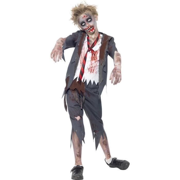 Le Deguisement D Ecolier Zombie De Smiffy S Achat Vente Deguisement Panoplie Cdiscount