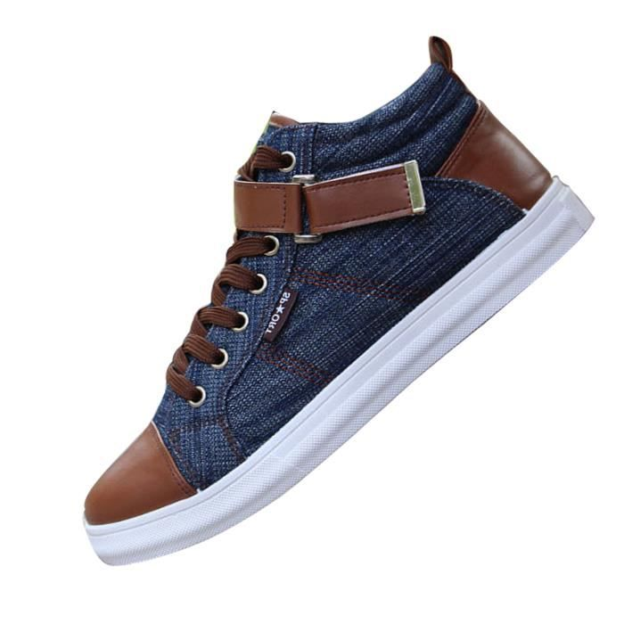 Printemps Ete Montantes Baskets Fashion Hommes qOEwt6xa76