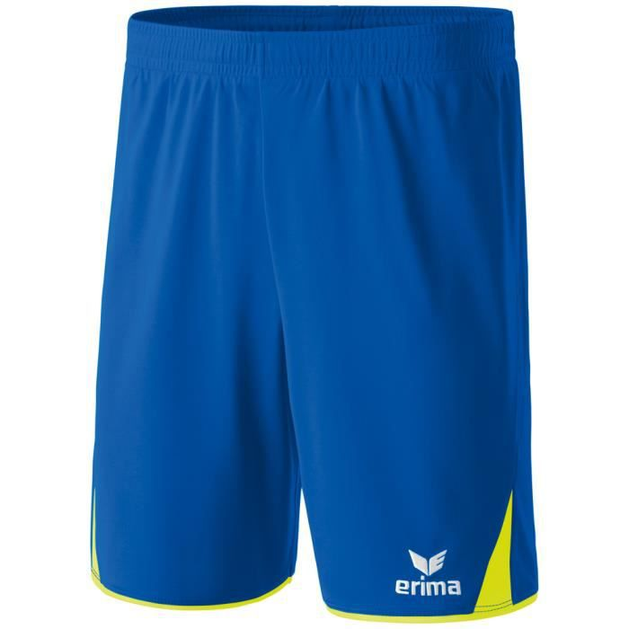 Short Erima 5-CUBES New royal jaune fluo Bleu New royal jaune fluo ... 01ef0cf18bd