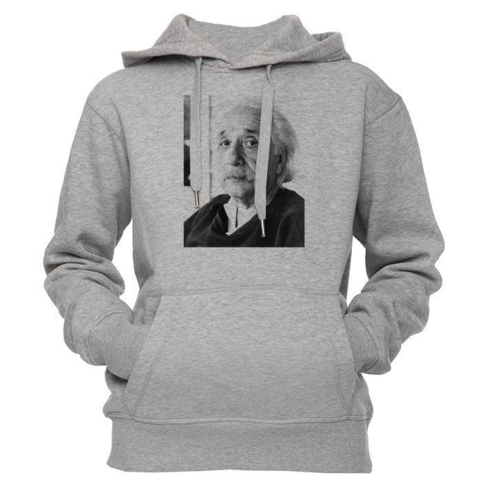 Albert Einstein Formule énergie Cool Hommes Femmes Unisexe Top Sweat À Capuche Sweat 2187