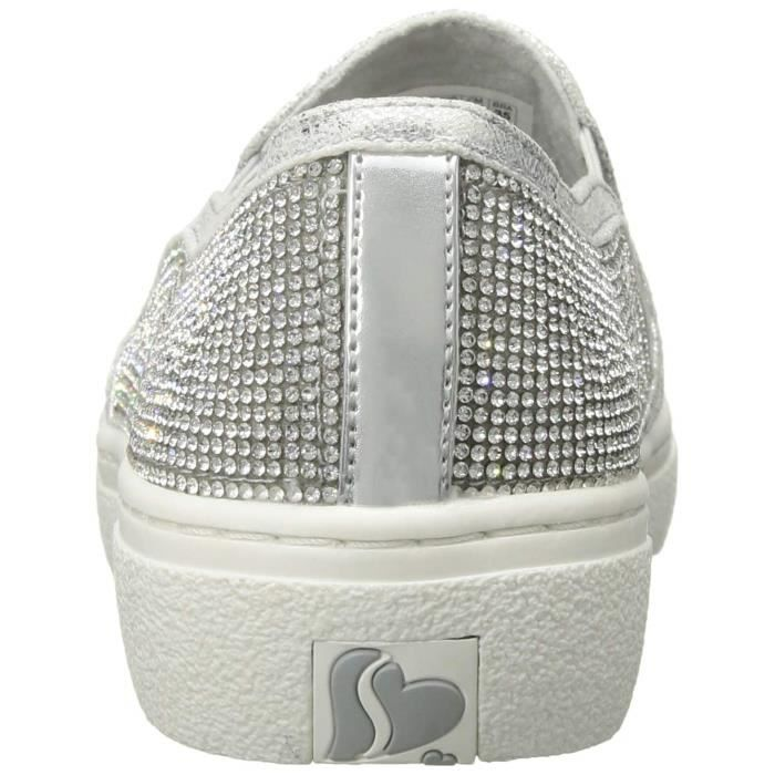 Rhinestone Sneaker 37 Goldie flashowSmall Taille Slip Women's Tonal On Dh0pm Skechers tBhQdsoCrx