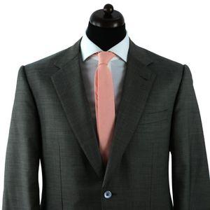 Cravate Unisexe D/écontract/ée Cravate Etroite Mince Rose Clair Solide