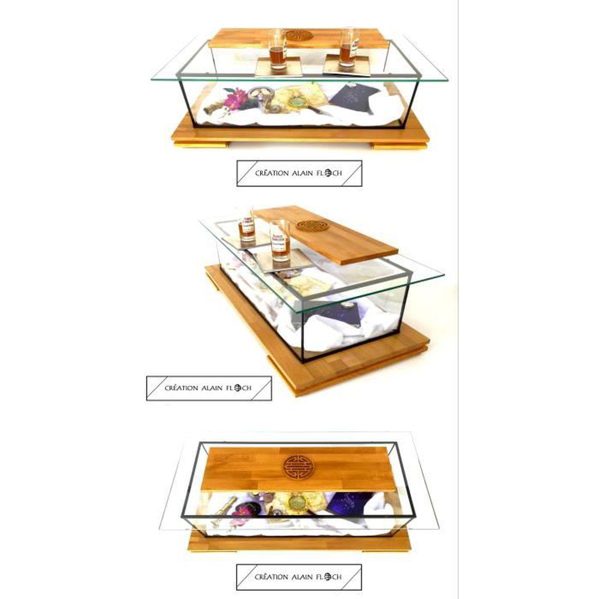 Table Basse Terrarium A Vendre table basse vitrine / aquarium terrarium annasia design
