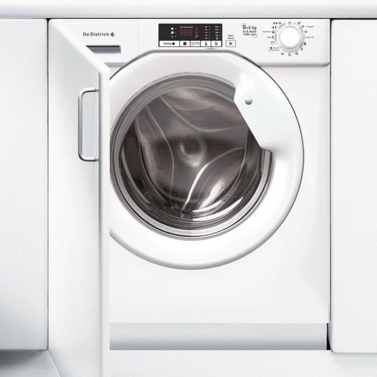 Machine À Laver Et Sèche Linge Intégré lave linge séchant encastrable