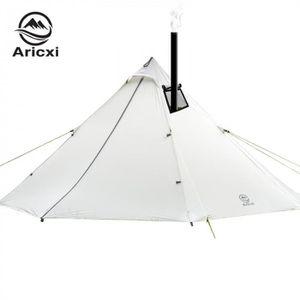 TENTE DE CAMPING 3-4 Personnes Ultra-Léger Camping En Plein Air Tip