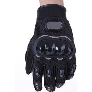 GANTS - SOUS-GANTS Paire Noir Gants Doigt Complet Protection L Moto V