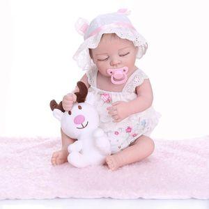 POUPÉE 48 CM premie nouveau-né bebe réaliste reborn doux