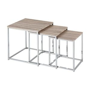 table gigogne bois achat vente table gigogne bois pas cher cdiscount. Black Bedroom Furniture Sets. Home Design Ideas