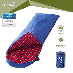 SAC DE COUCHAGE skandika Dundee - Sac de couchage couverture - zip