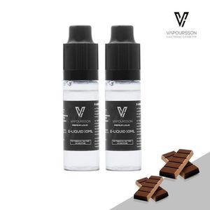 LIQUIDE VAPOURSSON 2 X 10ml Nouveau E-Liquide   Chocolat  