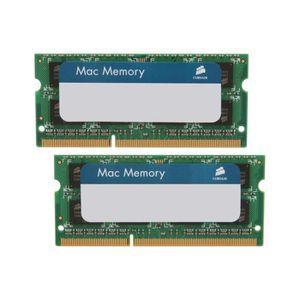 MÉMOIRE RAM Corsair CMSA16GX3M2A1333C9 Apple Mac 16GB (2x8GB)