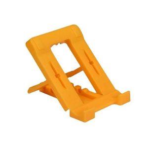 SUPPORT PC ET TABLETTE Support jaune pliable pour téléphone portable Supp